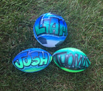 Airbrushed Football - Mini