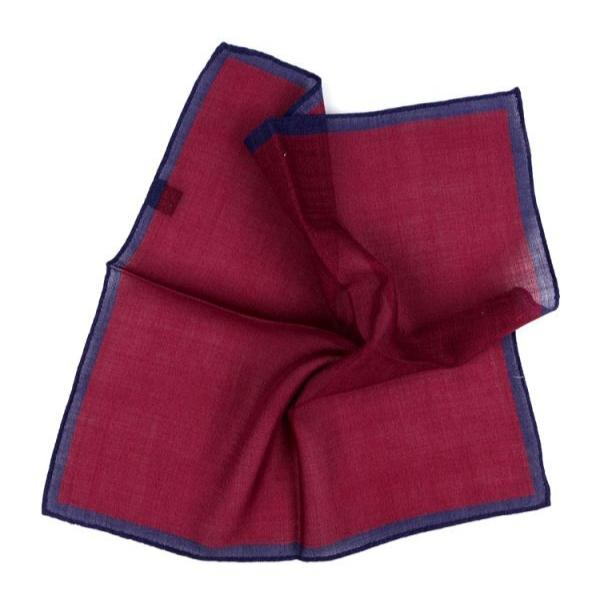 Pocket Squares - Bordeaux Pocket Square