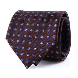 Ties - Brown | Floral Print