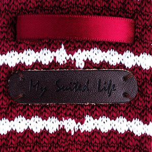 Ties - Burgundy | Stripe