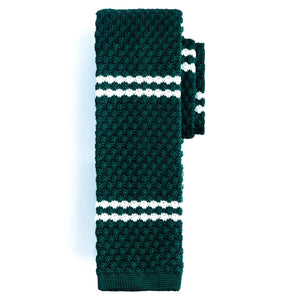 Ties - Green | Dbl Stripe