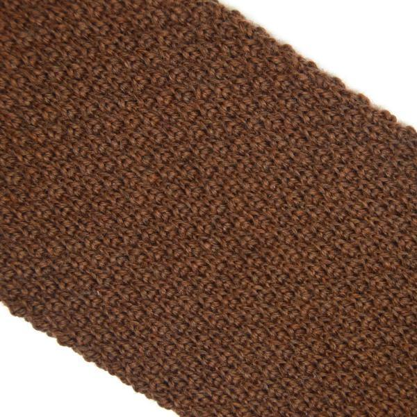 Ties - Light Brown Knitted Tie