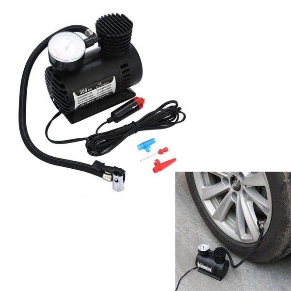 Auto - 12V Portable Mini Air Compressor 300 PSI Car Van-Cheapnotic