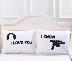 Bedding Pillowcase White love Gunner 3D Print Pillow Case