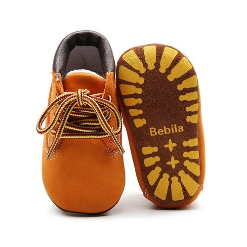 Kids' - Genuine Leather Baby Boots Boy Baby Moccasins