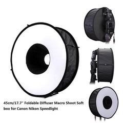 New Ring Softbox Flash Round Flash