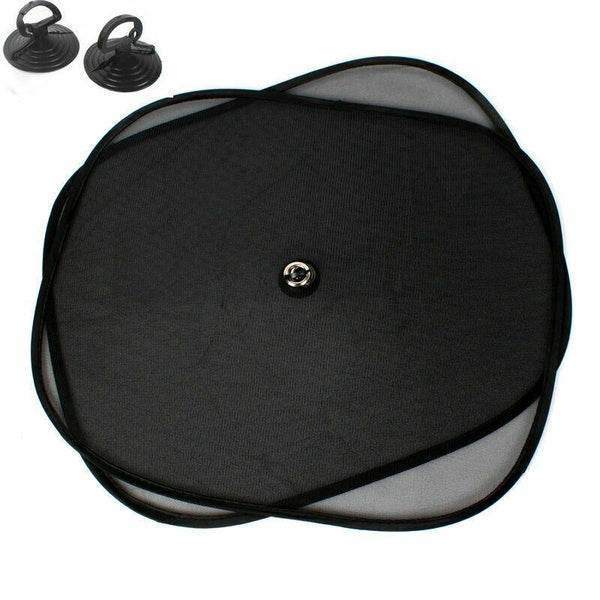 Auto - 2Pcs/Set 44*37cm Black Car Sun Shade
