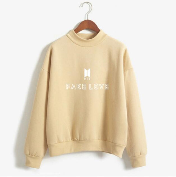 Women's - Fake Love Sweatshirt by BTS-Cheapnotic