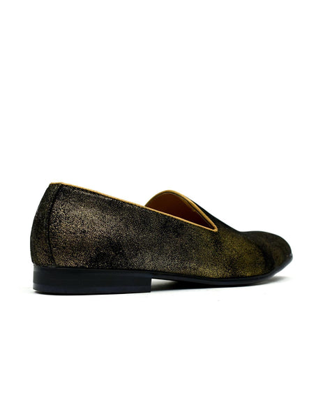 Men's - Stars in the Night Loafers Gold