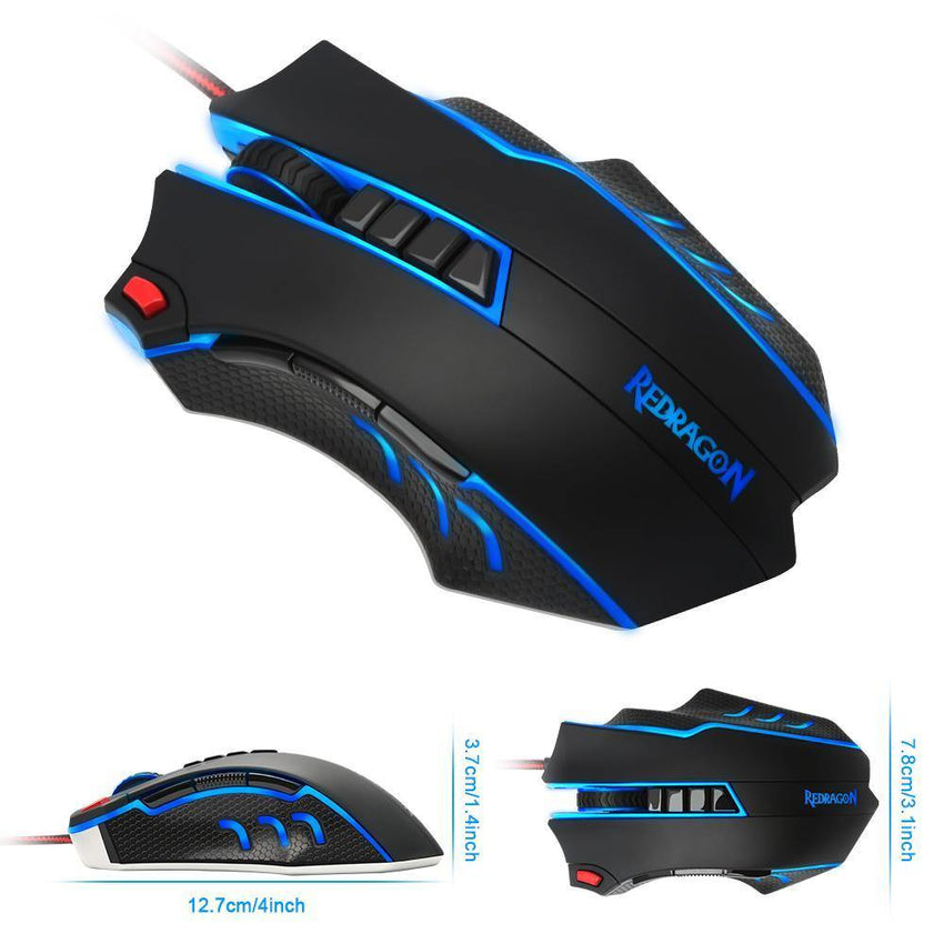 Gaming - Redragon Programmable Mouse-Cheapnotic