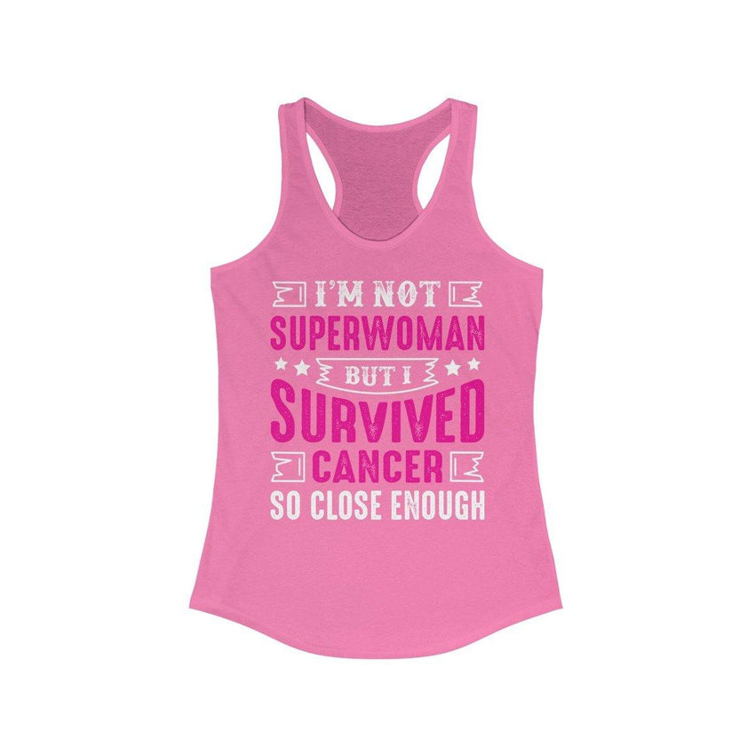 Women's - I am not Superwoman but I Survived Breast Cancer-Cheapnotic