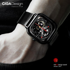 Unisex - CIGA Hollowed-out Design Watch