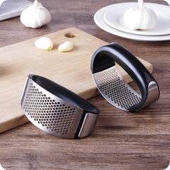 Kitchen - 430 stainless steel Garlic Press Roller