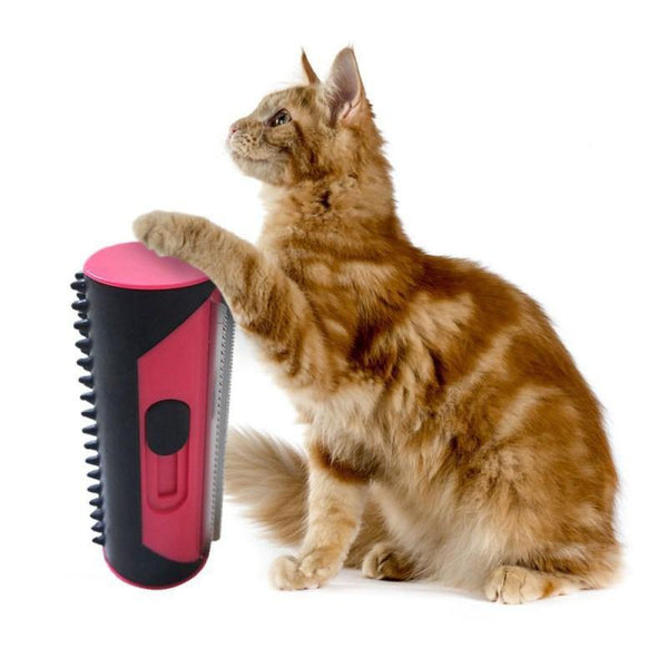 Pets - Hair Remover Lint Roller Cleaning Hair Brush Sofa Carpet For Puppy Dogs Cats-Cheapnotic
