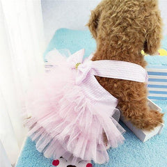 Pets - Bubble Princess Braces Skirt  Dress Up Wear