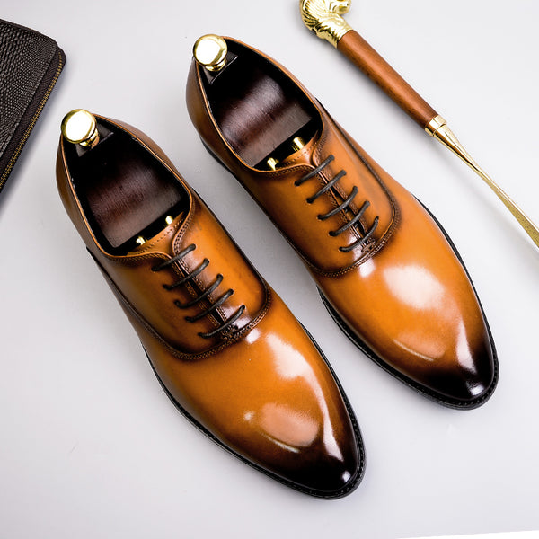 Men's - Oxford Formal Shoes Genuine Leather