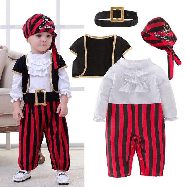 Pirate Captain Cosplay Clothes For Baby Boy