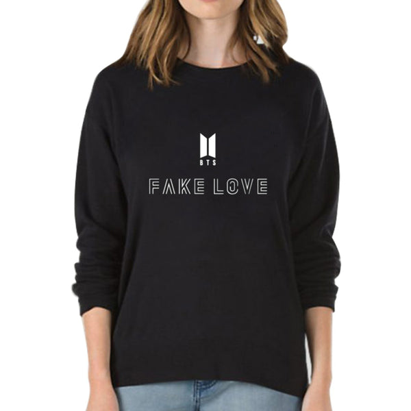 Women's - Fake Love Sweatshirt by BTS