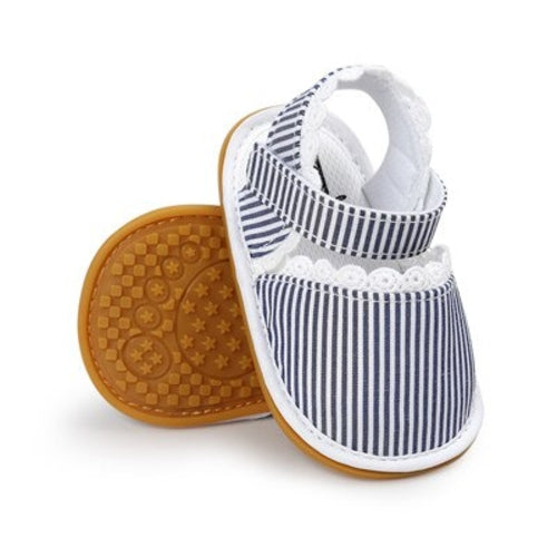 Kids' - New Stripe Bowtie Cute Baby moccasins