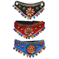 Pets - Colorful Textured Pet Bandana-Cheapnotic