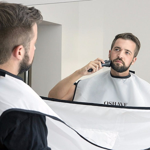 Men's - Beard and Moustache Catcher Apron Cape Bib-Cheapnotic