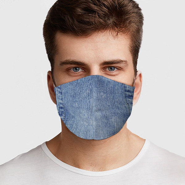 Unisex - Denim Style Face Cover