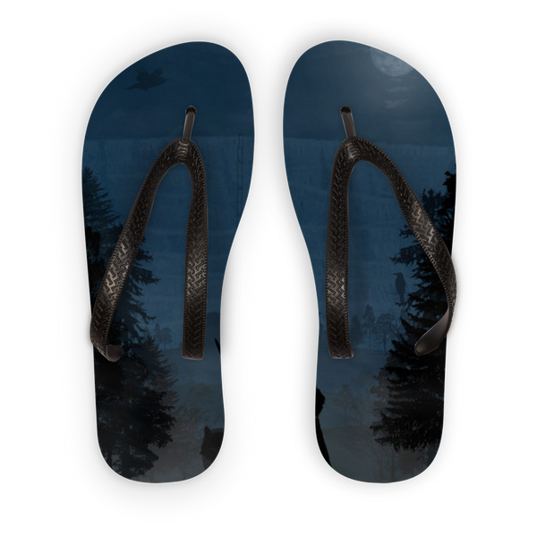 Men's - Game of Thrones - Jon Snow Adult Flip Flops