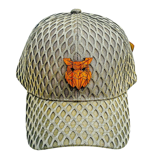 Men's - Owl Khaki Mesh Hat-Cheapnotic