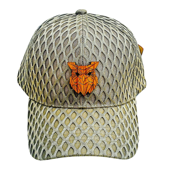 Men's - Owl Khaki Mesh Hat
