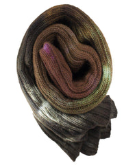 Women's - Woodlands Hand dyed Double Ribbed Scarf