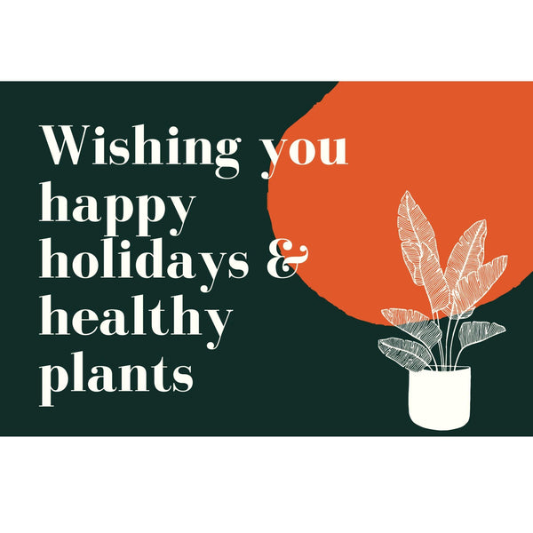 Holiday Cards Holiday Cards - Cellar Door Plants Cellar Door Plants Wishing you a..