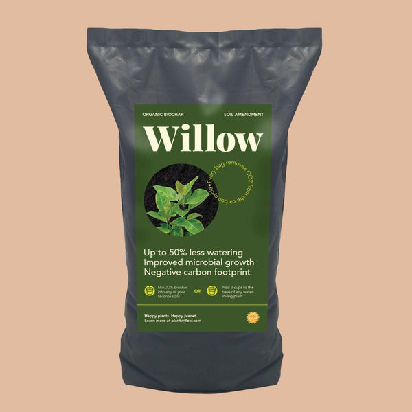 Willow Organic Biochar Carbon Sink Cellar Door Plants