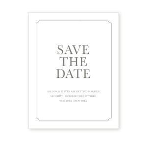 MADISON: Save the Date