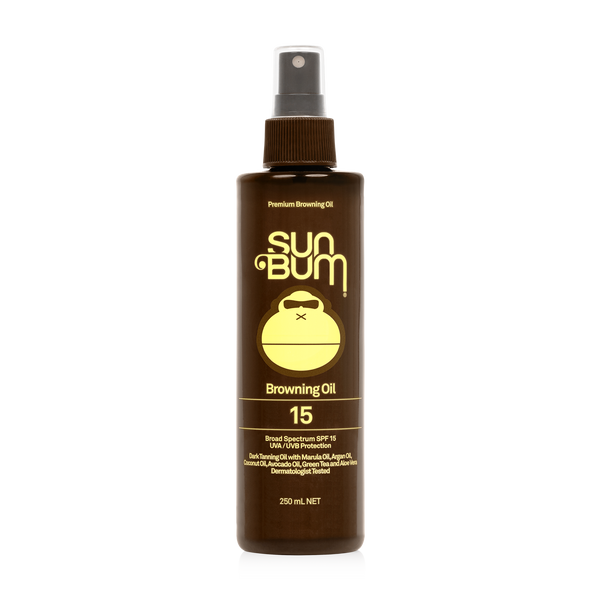 SPF 15 Sunscreen Browning Oil