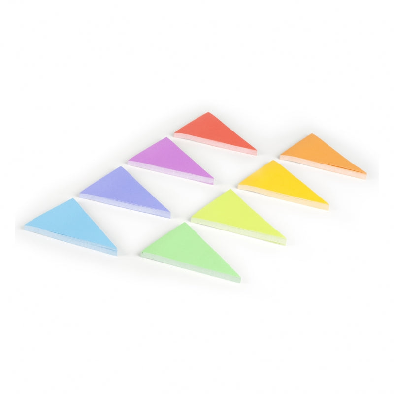 Sticks notes triangles multicolores - Sans idée fixe