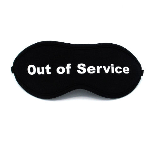 Masque Out Of Service - Sans idée fixe