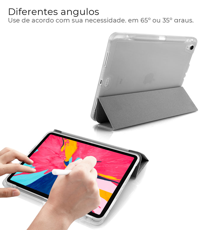 "Capa iPad Pro 11"" WB Premium Antichoque Com Compartimento para Pencil"