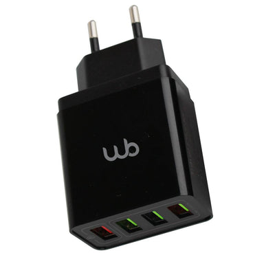 Carregador WB 4 Portas USB - Ultra Rápido Qualcomm 3.0