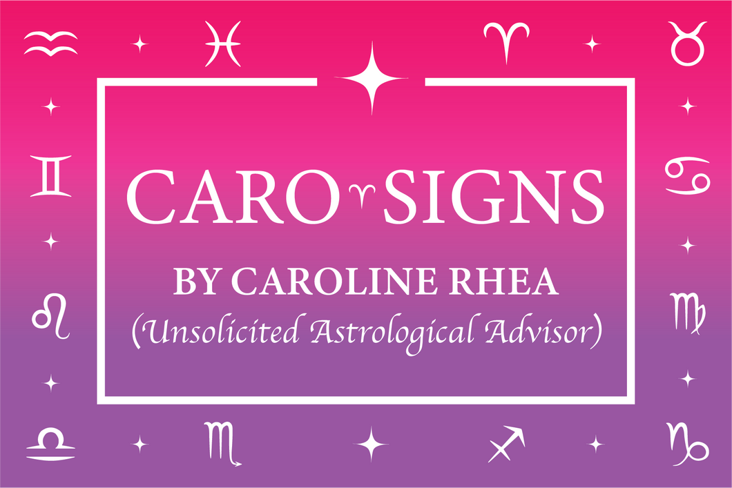 CaroSigns Astrological Postcards