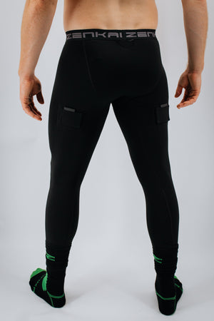NEW Men's Compression Hockey Velcro Tights 2.0