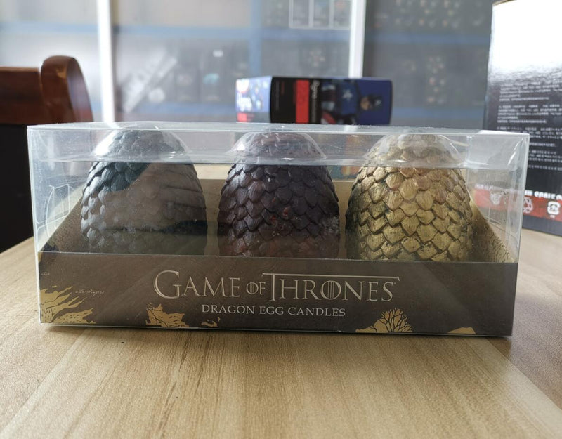 SPECIAL DRAGON EGG CANDLES  (3P/SET)