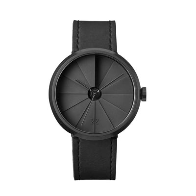 22STUDIO 4D Concrete Watch 42mm Shadow