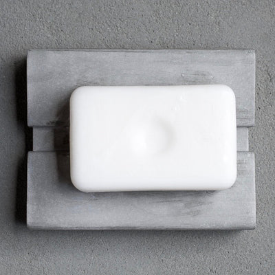 Above View of KOMOLAB Soap Dish with A White Soap