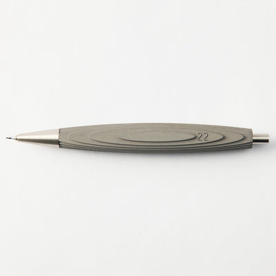 Concrete Mechanical Pencil by 22STUDIO in Mineral Gray