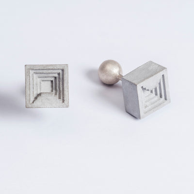 Elements Concrete Cufflinks #6 By Material Immaterial Studio