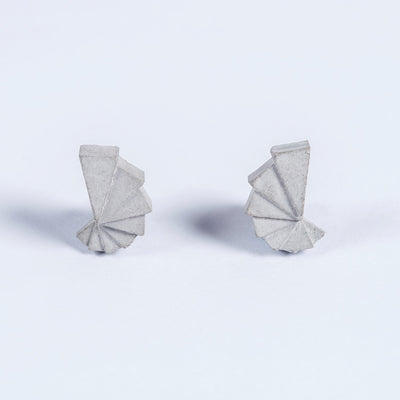 Elements Concrete Earrings #1 By Material Immaterial Studio
