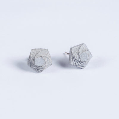 Elements Concrete Earrings #5 By Material Immaterial Studio