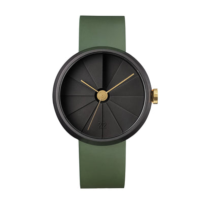 22STUDIO 4D Concrete 42mm Watch Jungle