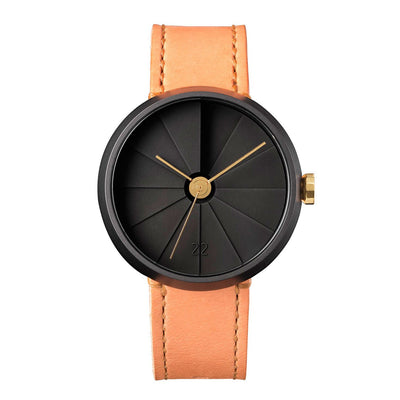 Midnight 42mm Concrete Watch Front