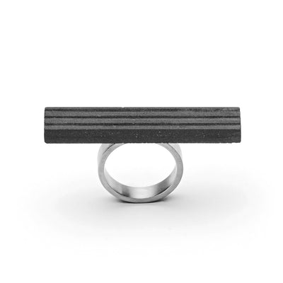 MORF Blok—47 Dark Gray Concrete Ring